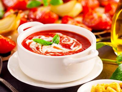 Super Fresh Tomato Soup