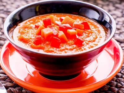 Pumpkin and Tomato Bisque