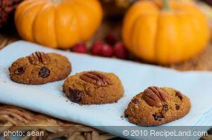 Harvest Pumpkin Drop Cookies