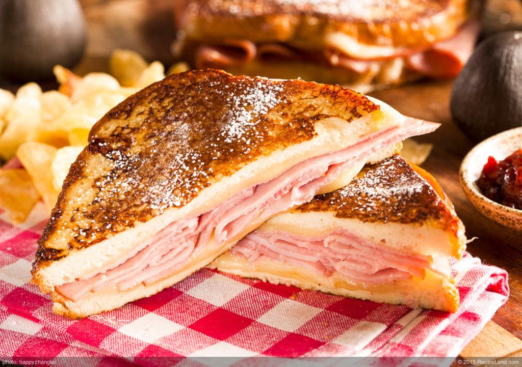 Mini Monte Cristo Sandwiches
