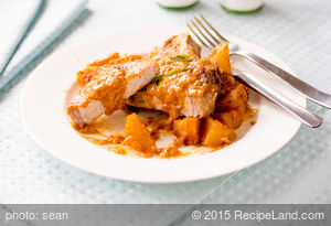 Hungarian-Style Pork Chops and Potatoes