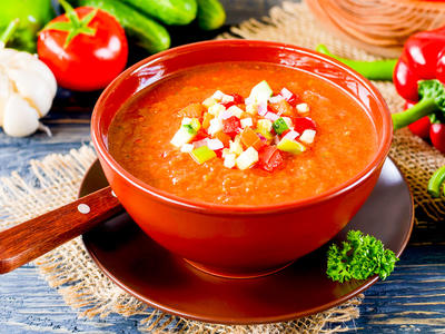 Delicious Chunky Gazpacho