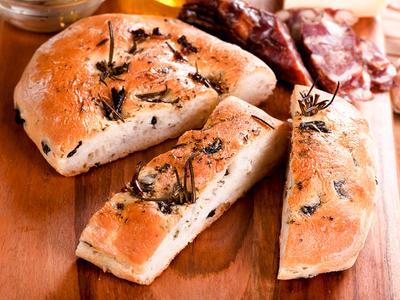 Yummy Bread Machine Focaccia