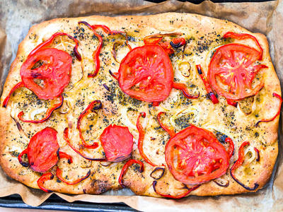 Easy Tuscan Focaccia