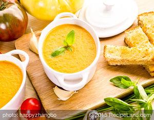 Cheddar Tomato Soup