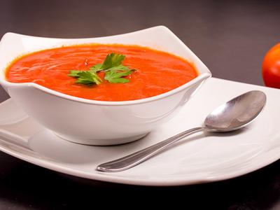 Chilled Tomato Carrot Soup