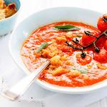 Creamy Tomato, Potato and Mushroom Soup