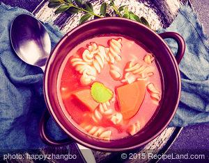 Fresh California Tomato Summer Soup