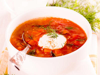 Winter Tomato Bisque