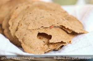 Multigrain Pita Bread with Sun Dried Tomato