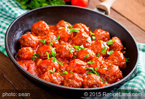 Easy Garlic Meatballs