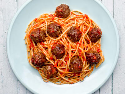 Easy Oven Meatballs