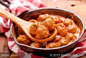 Easy Parmesan Meatballs