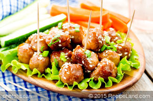 Thai Lion's Head Meatballs