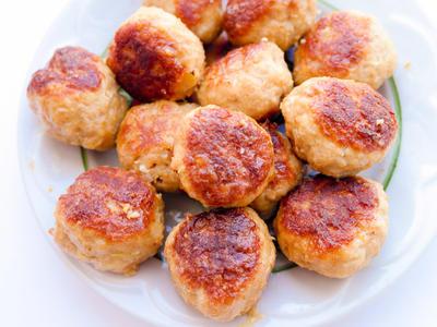 Lamb Meatballs, Persian Style