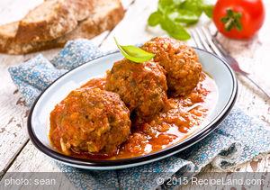 Kohl's Basic Spaghetti and Meatballs