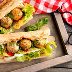 Zesty Meatball Sandwiches- Crock Pot