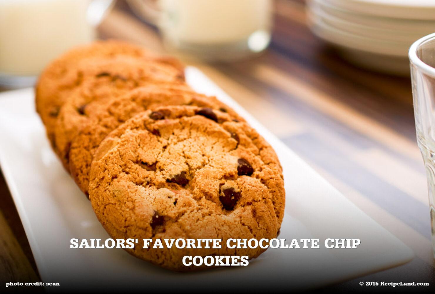Sailors' Favorite Chocolate Chip Cookies