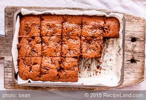 Banana-Fudge Walnut Brownies
