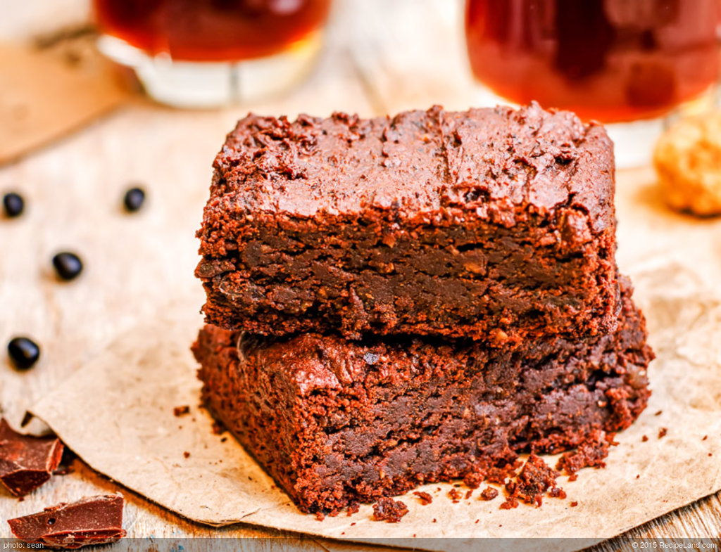 Black Bean Coffee Brownies