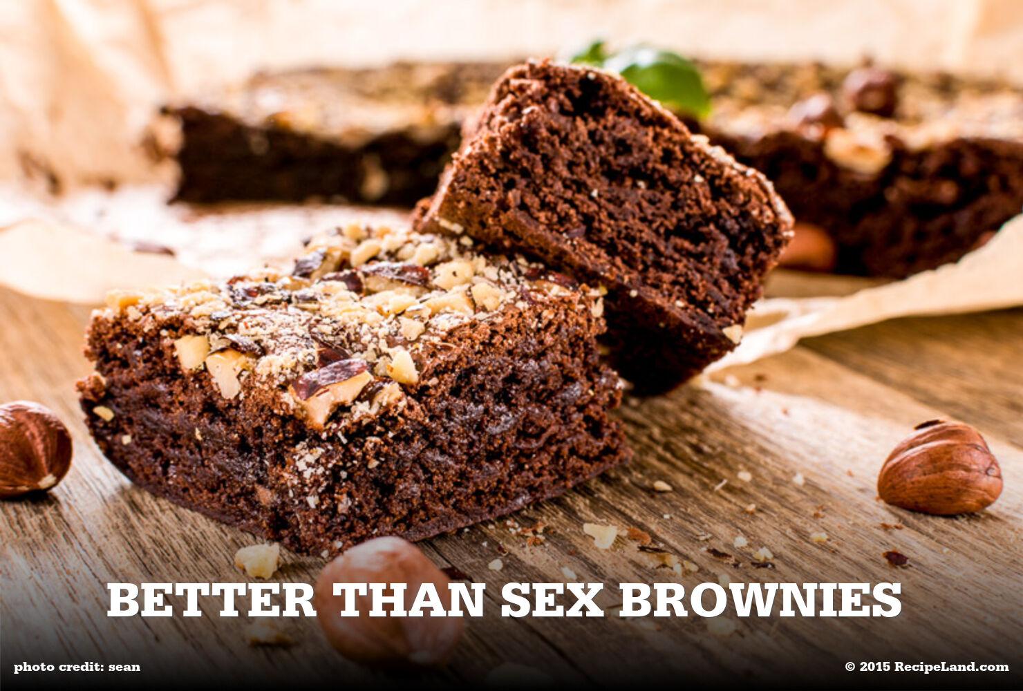 Better Than Sex Brownies