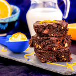 Confectioners' Sugar Brownies