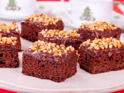 Double Fudge Kahlua Brownies