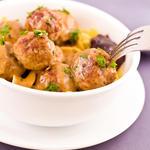 Yummy Meatballs with Milk Gravy