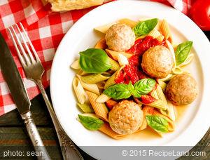 Savory Spaghetti and Meatballs