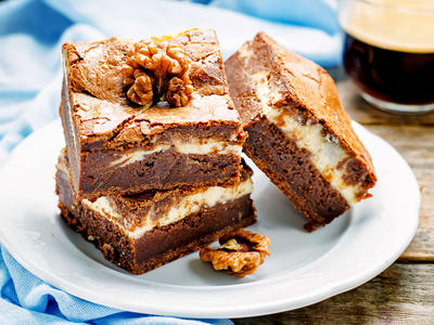 Rich Expresso Brownie Bars