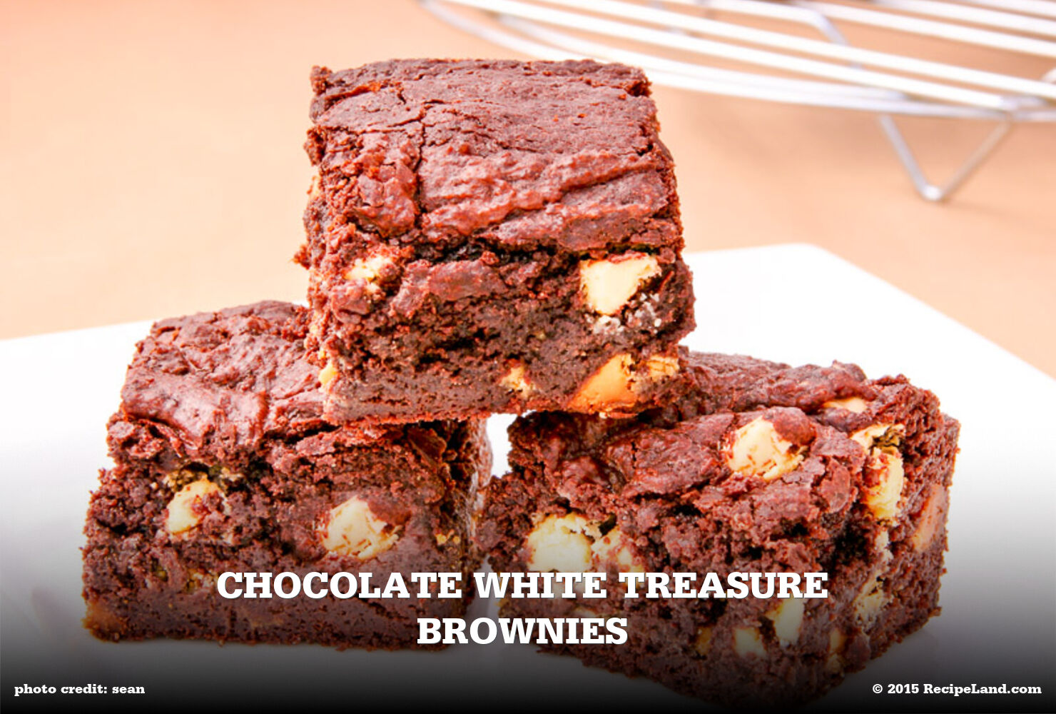Chocolate White Treasure Brownies
