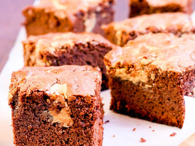 Best Peanut Butter Chip Brownies