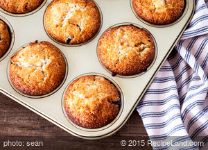 Naturally Sweet Pineapple Muffins