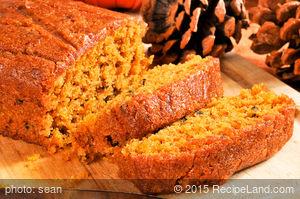 Cate's Pumpkin Nut Bread