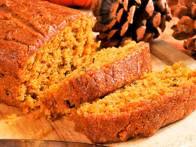 Cate's Pumpkin Nut Bread