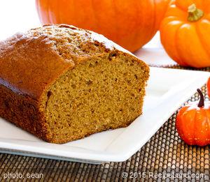 Buttermilk and Molasses Pumpkin Gingerbread