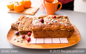 Lisa's Best Pumpkin Bread