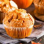 Honey-Wheat Pumpkin Muffins