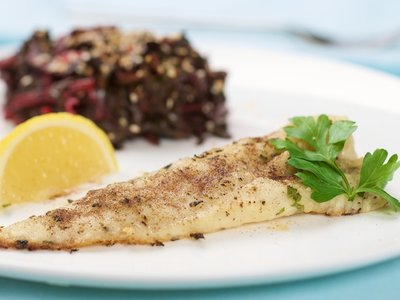 Lemon Baked Sole-Diabetic