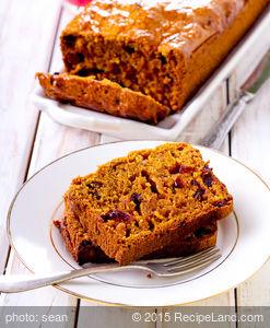 Best Cranberry Pumpkin Bread
