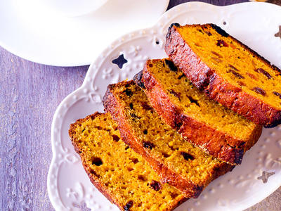 Golden Pumpkin Bread