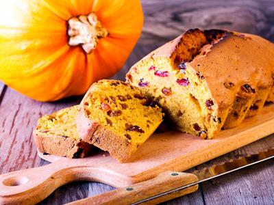 Autumn Pumpkin Bread