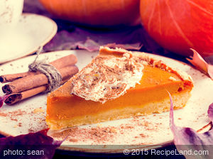 Cool and Creamy Pumpkin Pie