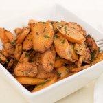 Chili Roasted Carrots