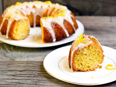 Lemon Grove Bundt Cake