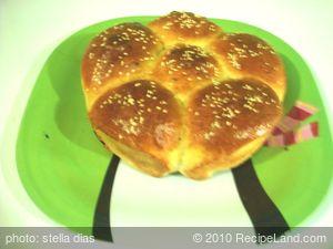 Homemade Sweet Coconut Bread