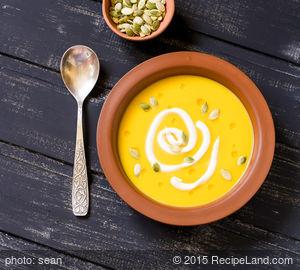 Smoky Pumpkin Soup