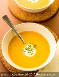 My Acorn Squash Soup