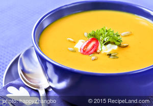 Very Creamy Butternut Squash Soup