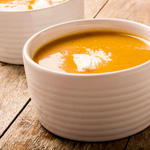 Autumn Squash and Apple Soup